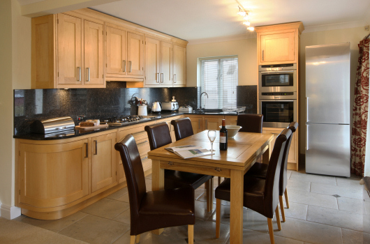 Dining Kitchen, Newton Holiday Cottages, Northumberland