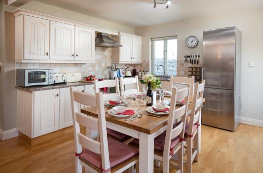 Kitchen, Newton Holiday Cottages, Northumberland