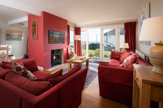 Lounge, Newton Holiday Cottages, Northumberland